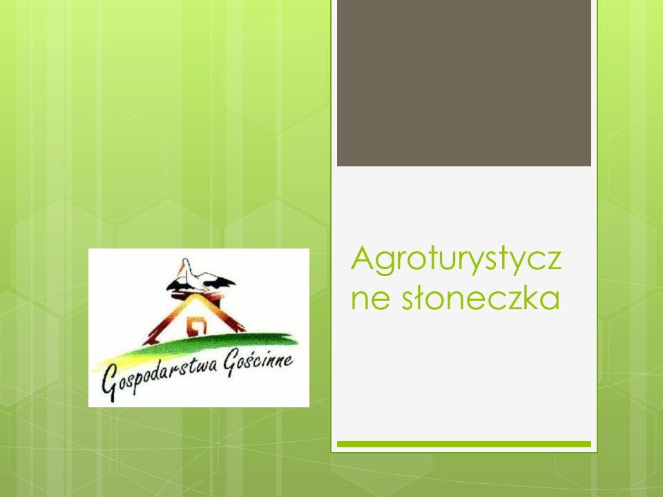 Agroturystycz ne słoneczka