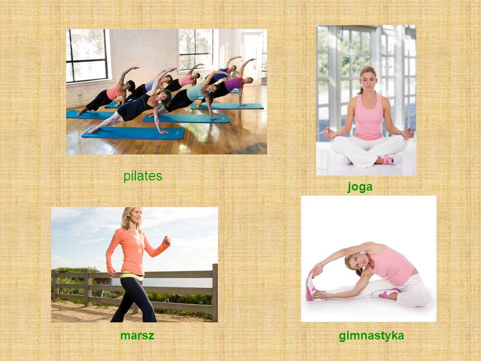 joga pilates marszgimnastyka