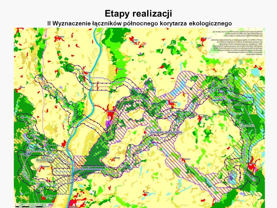 Plan udrażniania północnego i karpackiego korytarza ekologicznego w czterech wybranych miejscach. IBS PAN, Fundacja WWF Polska, 2011. Etapy realizacji