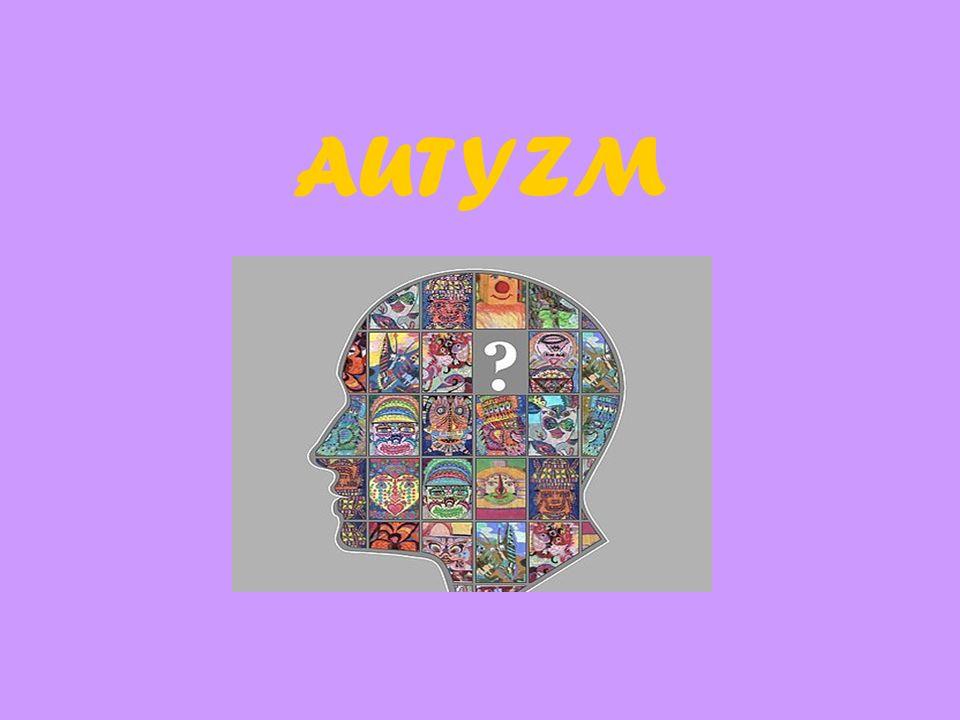 Autyzm jest zaburzeniem rozwojowym, a więc uszkodzeniem różnych struktur mózgu (nie jest chorobą psychiczną!!!), które najczęściej ujawnia się w ciągu pierwszych trzech lat życia jako rezultat zaburzenia neurologicznego, które oddziałuje na funkcje pracy mózgu.
