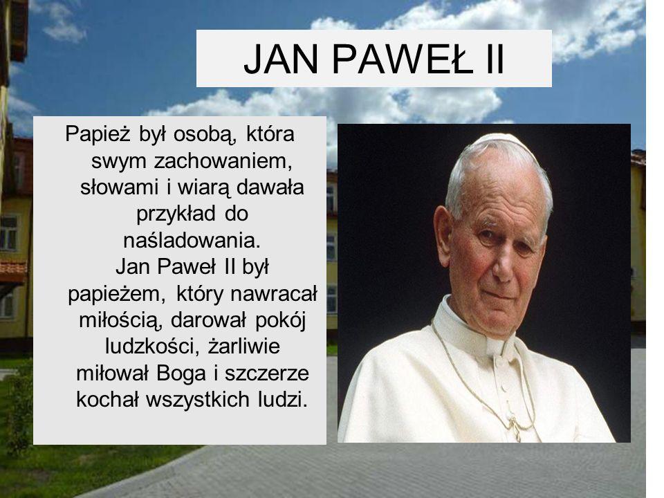 JAN PAWEŁ II 27 kwietnia27 kwietnia 2014 w Watykanie odbędzie się kanonizacja Jana Pawła II.2014Watykanie
