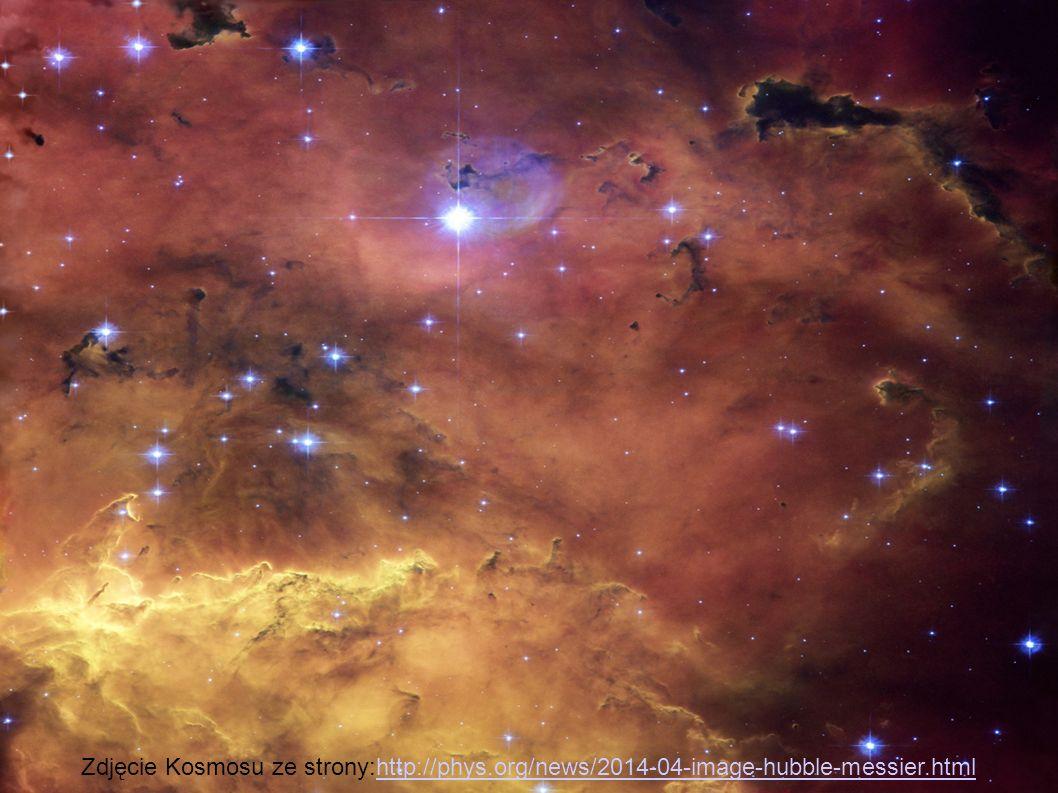 Zdjęcie Kosmosu ze strony:http://phys.org/news/2014-04-image-hubble-messier.htmlhttp://phys.org/news/2014-04-image-hubble-messier.html