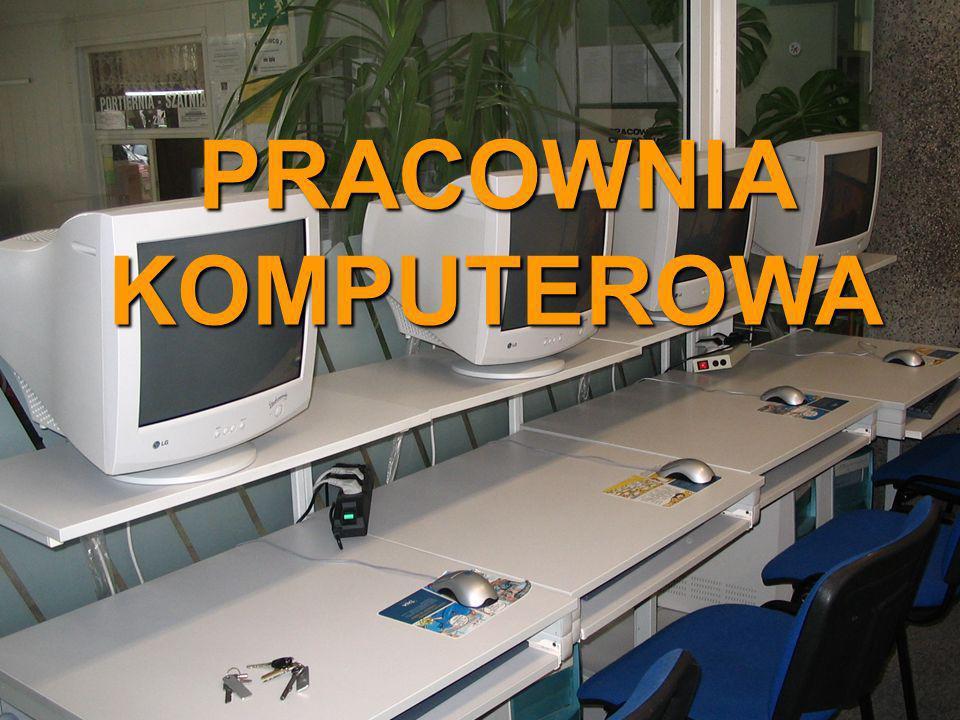 Pracownia Komputerowa PRACOWNIA KOMPUTEROWA