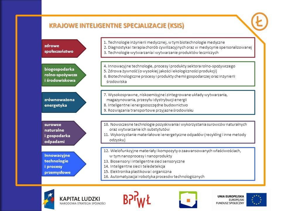 POTENCJAŁY ROZWOJU I SPECJALIZACJE POLSKICH REGIONÓW Badanie realizowane w całej Polsce na zlecenie Ministerstwa Infrastruktury i Rozwoju – Krajowe Obserwatorium Terytorialne.