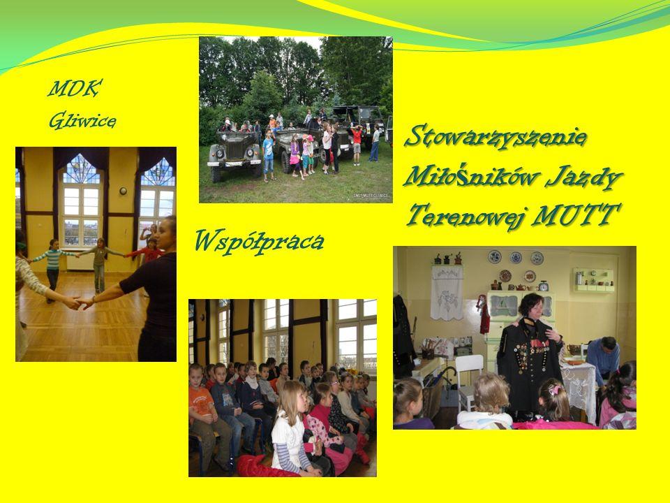 Współpraca Stowarzyszenie Miło ś ników Jazdy Terenowej MUTT MDK Gliwice