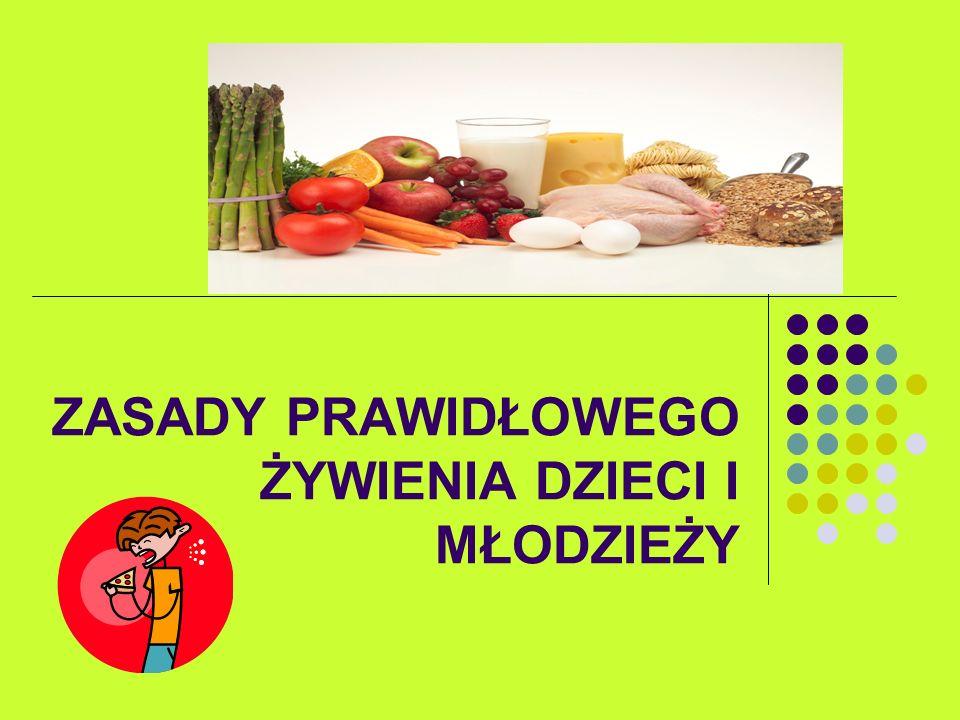 Prawidłowe żywienie jest jednym z najważniejszych czynników środowiskowych, wpływających na rozwój człowieka i utrzymanie przez niego dobrego stanu zdrowia.