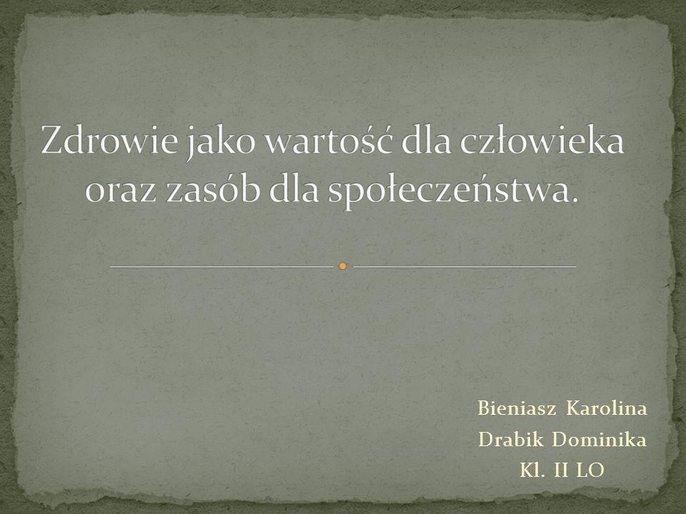 Bieniasz Karolina Drabik Dominika Kl. II LO