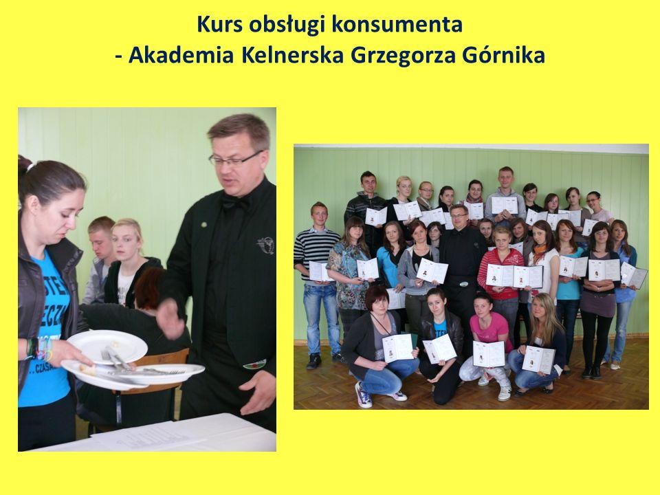 Kurs obsługi konsumenta - Akademia Kelnerska Grzegorza Górnika