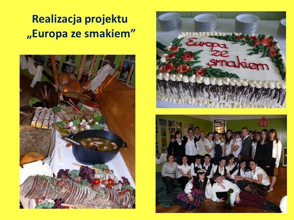 Realizacja projektu Europa ze smakiem