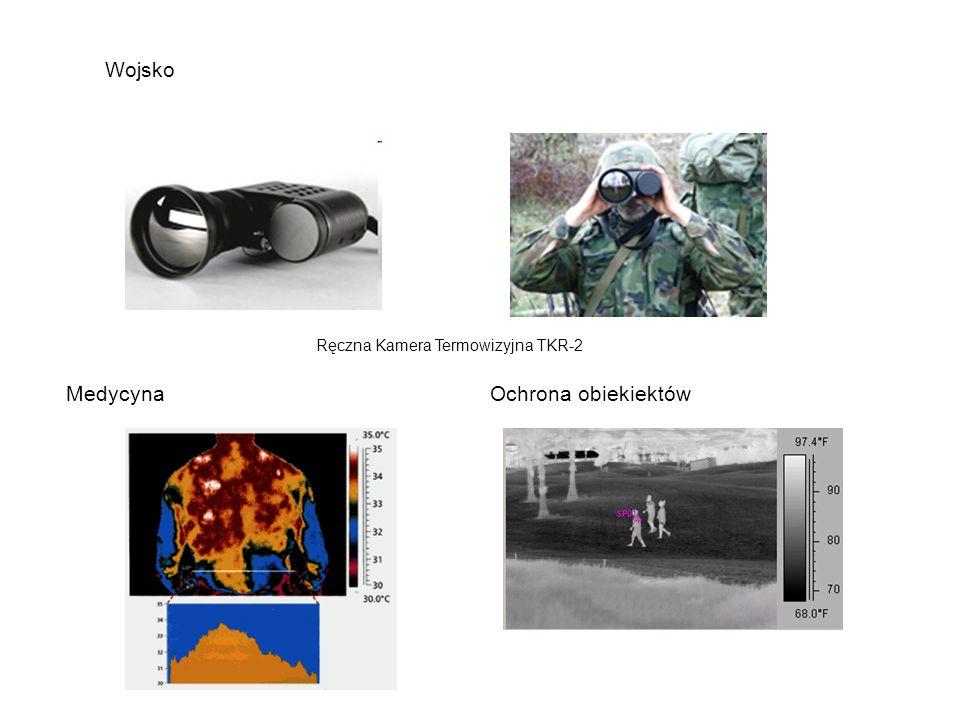 Wojsko Ręczna Kamera Termowizyjna TKR-2 MedycynaOchrona obiekiektów