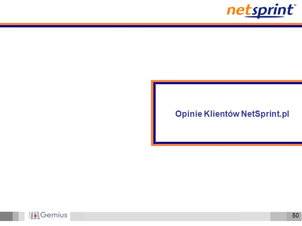 50 Opinie Klientów NetSprint.pl
