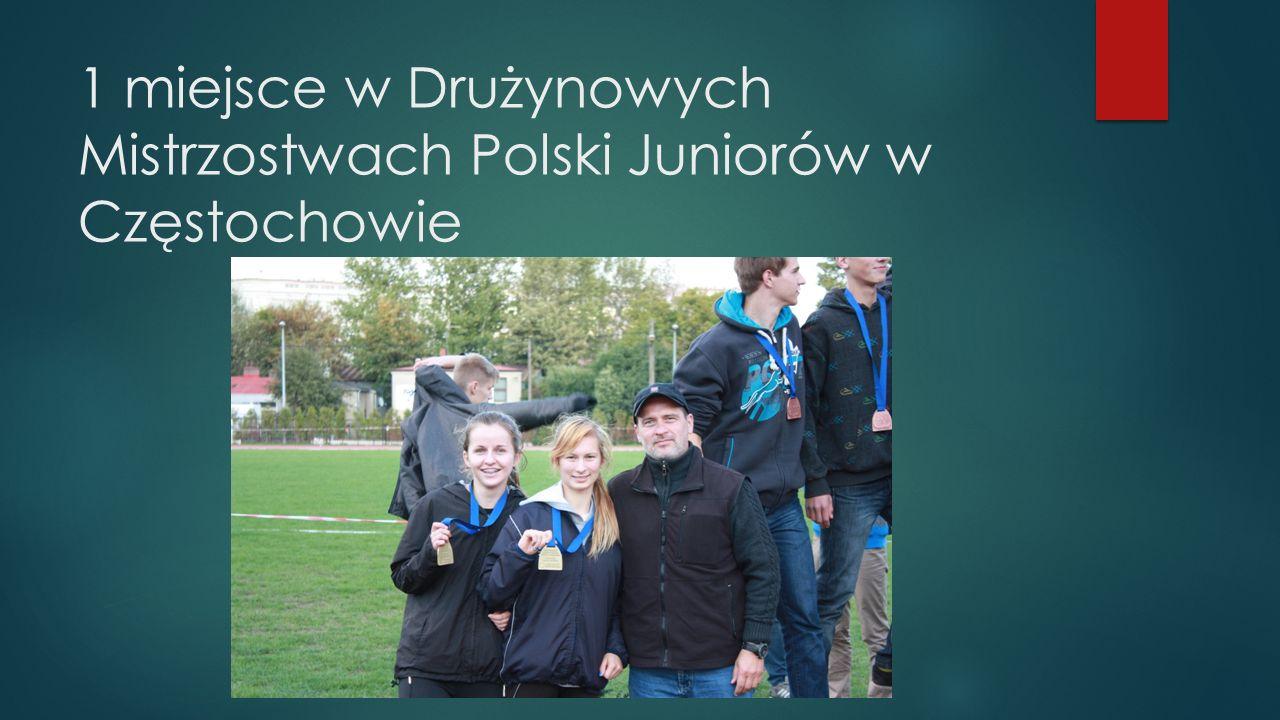 3 miejsce na Mistrzostwach Województwa Juniorów i Juniorów mł.