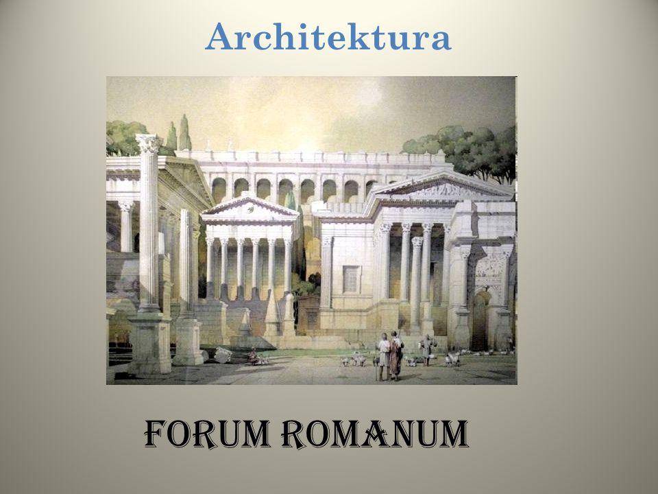 Architektura Kolejną, charakterystyczną budowlą rzymską były akwedukty, których ruiny można dzisiaj spotkać na terenie Europy Zachodniej - tam gdzie b