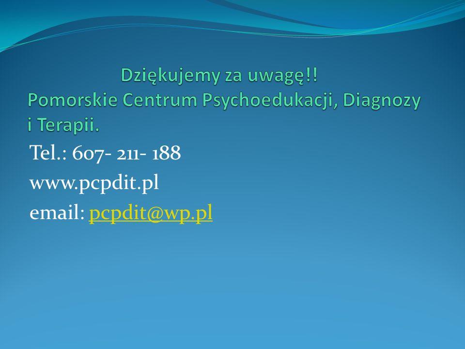 Tel.: 607- 211- 188 www.pcpdit.pl email: pcpdit@wp.plpcpdit@wp.pl