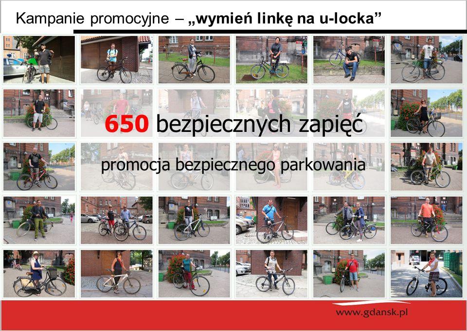 Kampanie promocyjne – wymień linkę na u-locka 650 bezpiecznych zapięć promocja bezpiecznego parkowania
