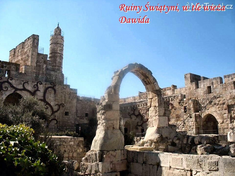 Wzgórze świątynne – wejście do Świątyni