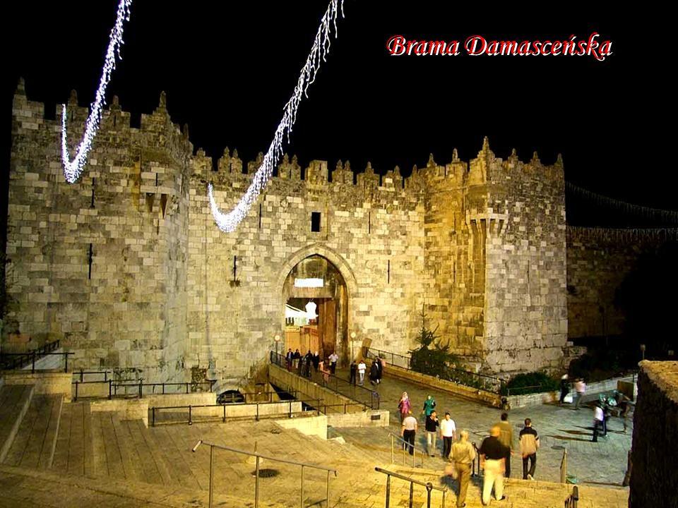 Mury Starego Miasta i wieża Dawida