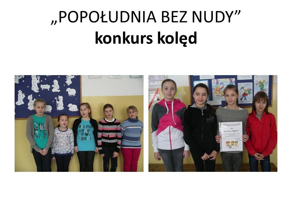 POPOŁUDNIA BEZ NUDY konkurs kolęd