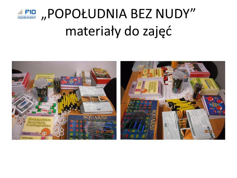 Zajęcia wyrównawcze z języka polskiego dla uczniów kl. I-II