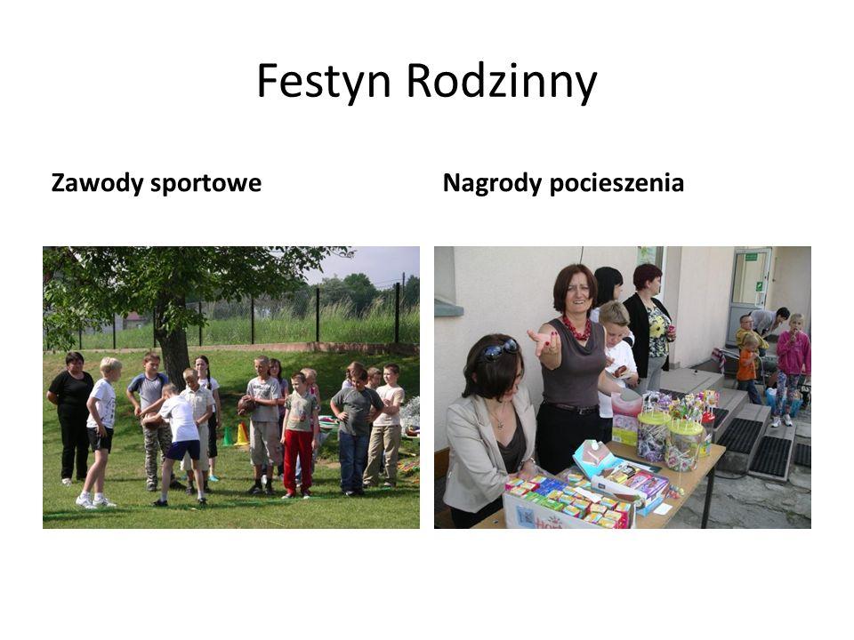 Festyn Rodzinny Zawody sportoweNagrody pocieszenia