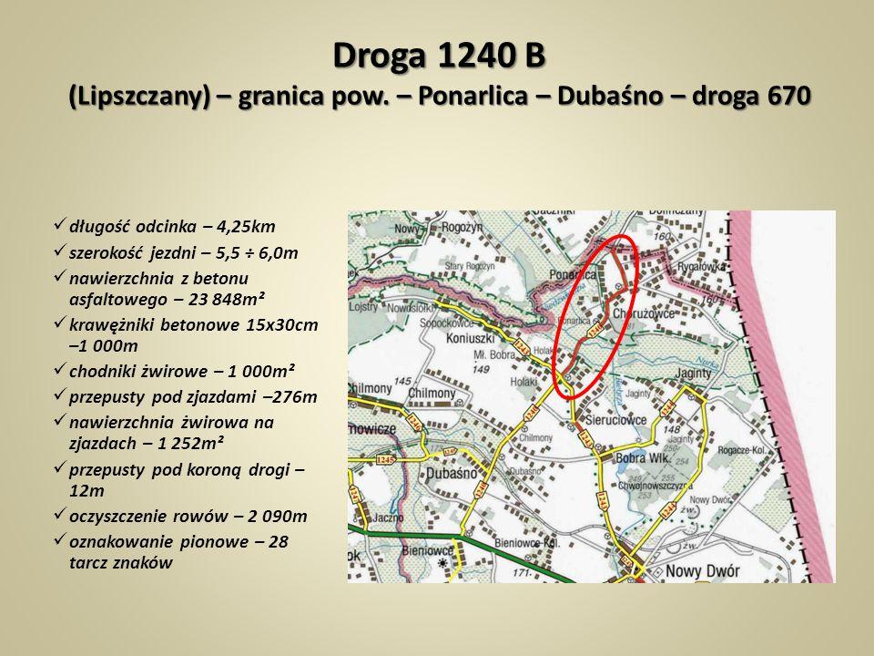 Droga 1240 B (Lipszczany) – granica pow.
