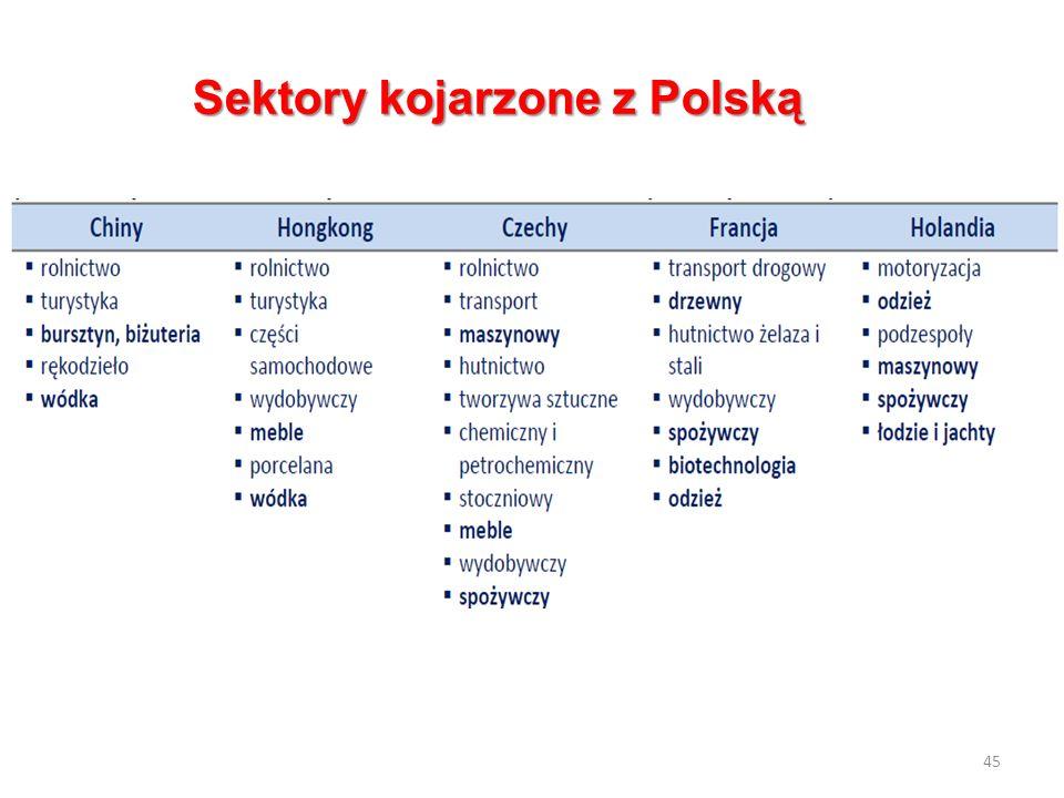 Sektory kojarzone z Polską 45