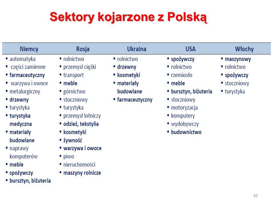 46 Sektory kojarzone z Polską