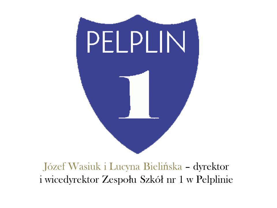Józef Wasiuk i Lucyna Bieli ń ska – dyrektor i wicedyrektor Zespo ł u Szkó ł nr 1 w Pelplinie