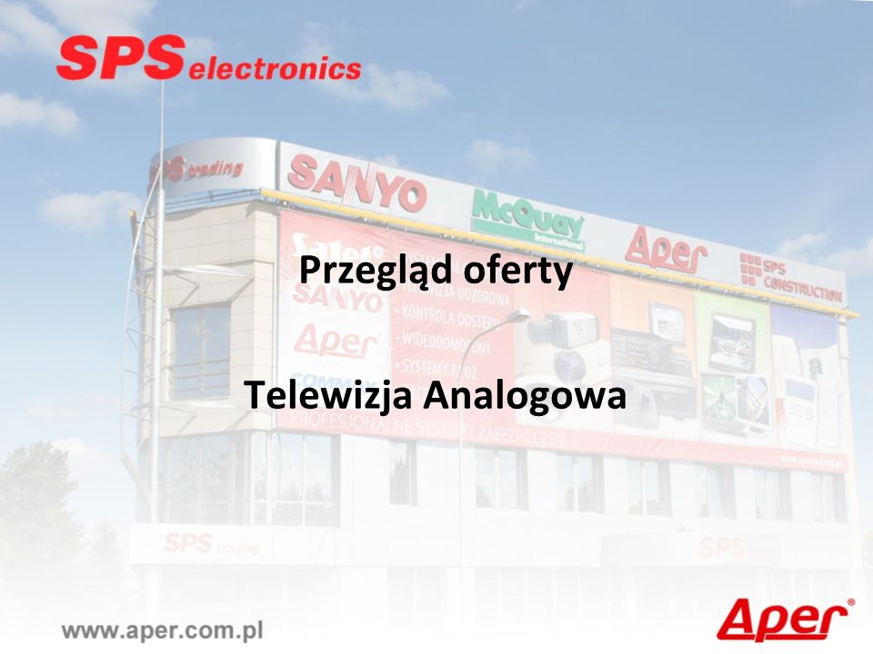 Przegląd oferty Telewizja Analogowa