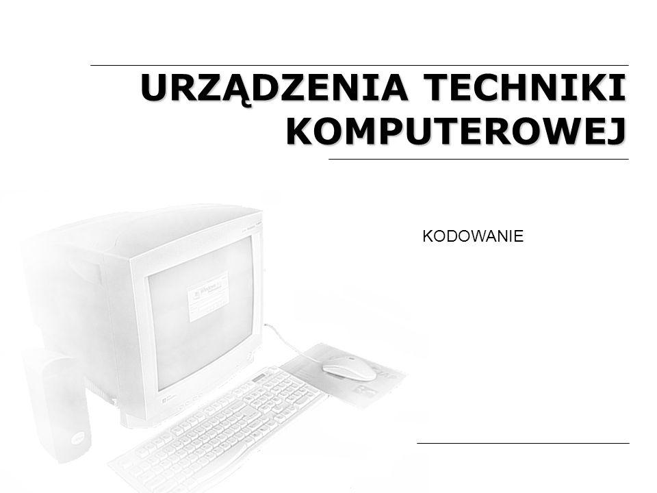 Komputer jest urządzeniem służącym do przetwarzania informacji.