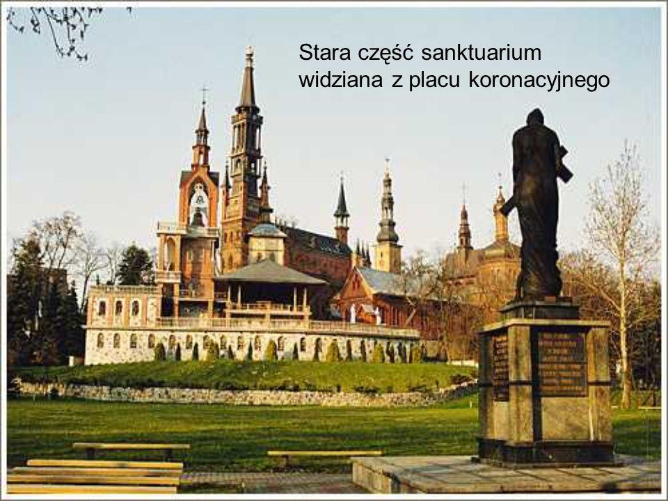 Obajwienie Tomasza Kłossowskiego Mikołaj Sikatka przed obliczem Matki Bożej