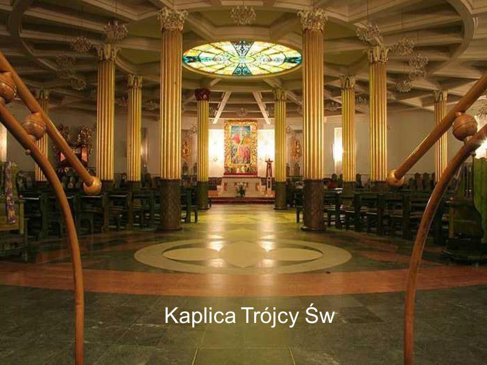 Kaplica bł. 108 męczenników - podziemie świątyni