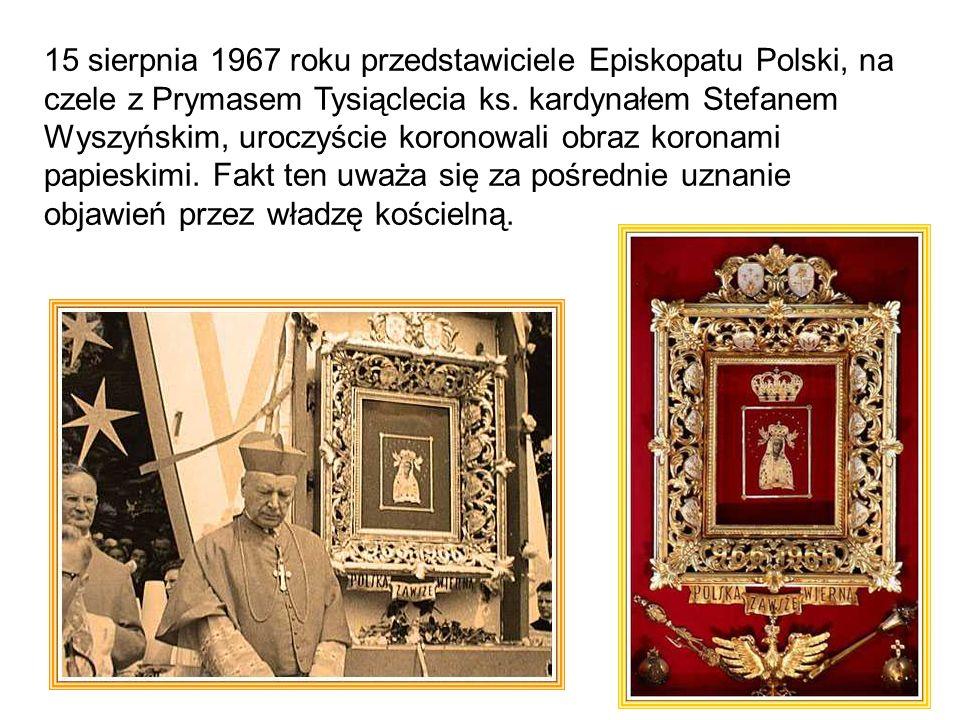 15 sierpnia 1967 roku przedstawiciele Episkopatu Polski, na czele z Prymasem Tysiąclecia ks.