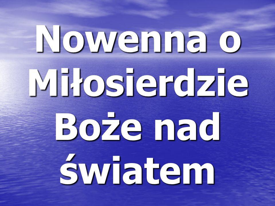 Początki nowenny W Wielki Piątek 1937 r.
