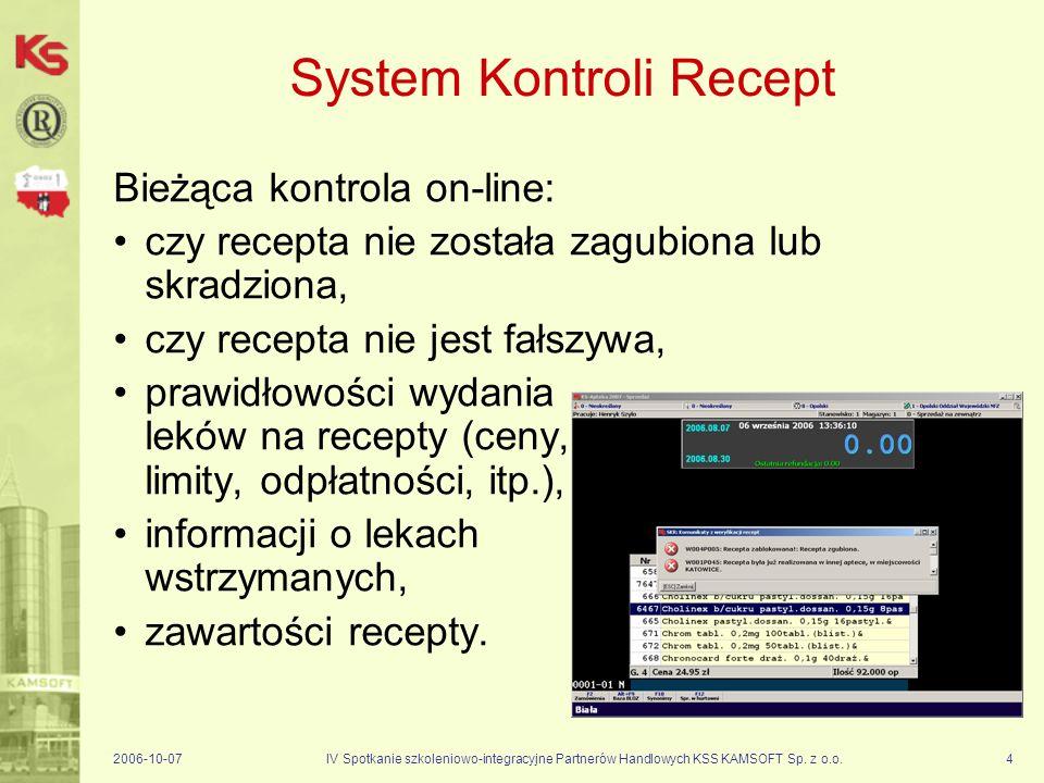 2006-10-07IV Spotkanie szkoleniowo-integracyjne Partnerów Handlowych KSS KAMSOFT Sp.