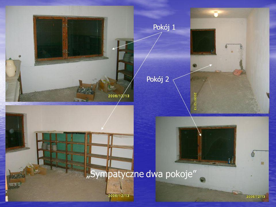 Pokój 1 Pokój 2 Sympatyczne dwa pokoje