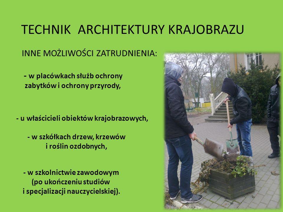 - w placówkach służb ochrony zabytków i ochrony przyrody, - u właścicieli obiektów krajobrazowych, - w szkółkach drzew, krzewów i roślin ozdobnych, -