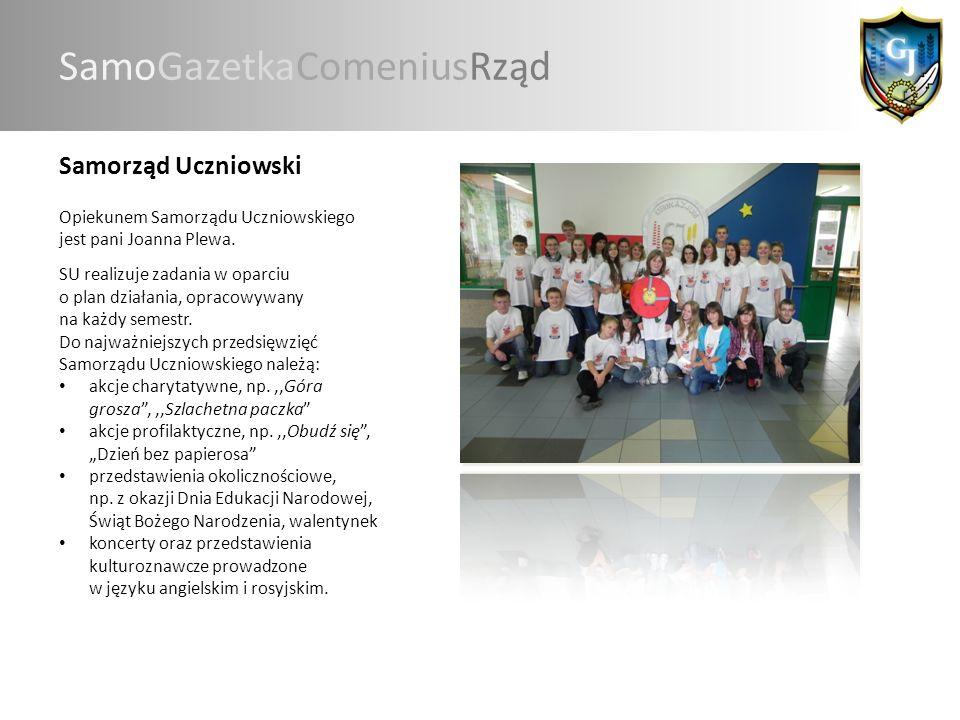 Gazetka Szkolna W naszym gimnazjum wydawana jest gazetka szkolna LUZ.
