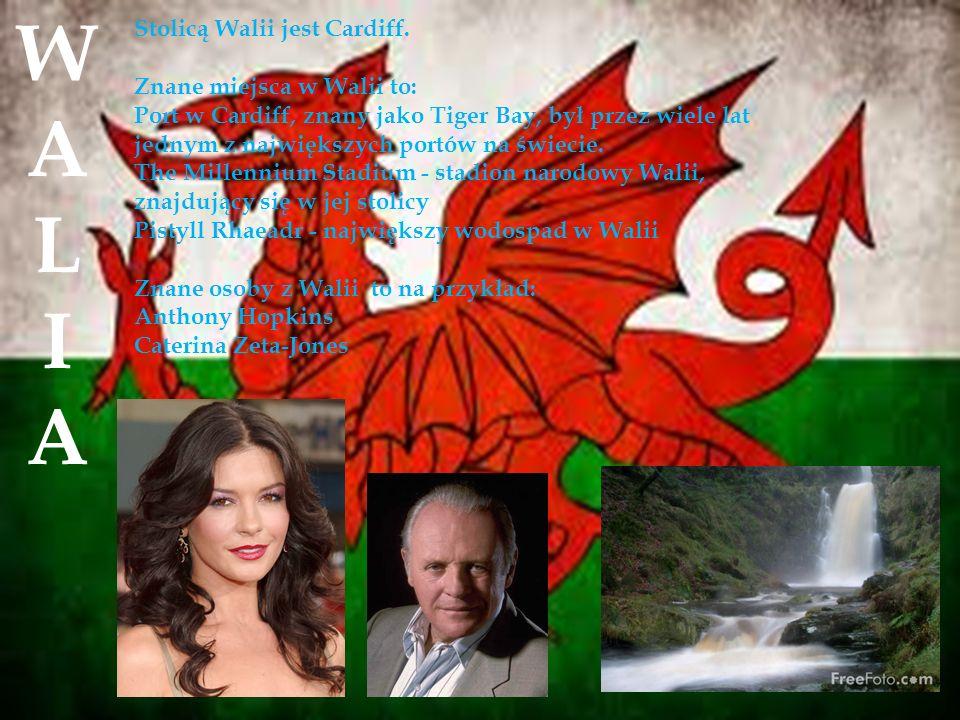 Stolicą Walii jest Cardiff.