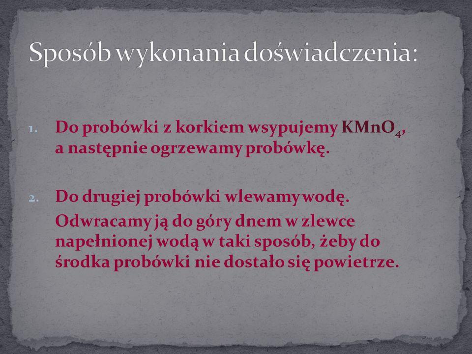 KMnO 4 H2OH2O III