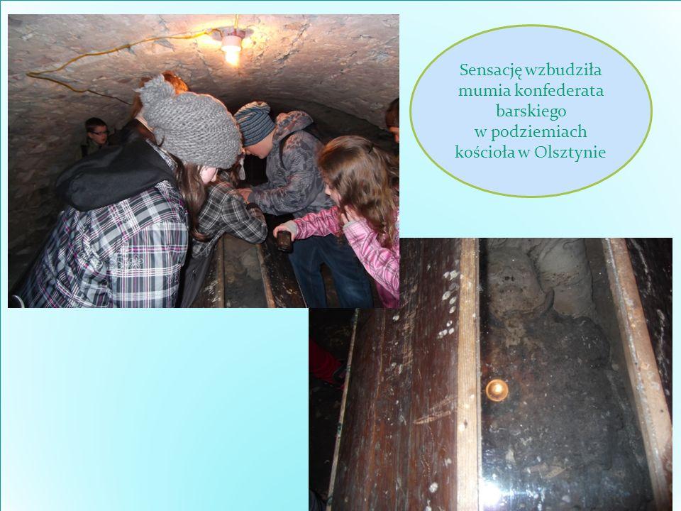 Sensację wzbudziła mumia konfederata barskiego w podziemiach kościoła w Olsztynie