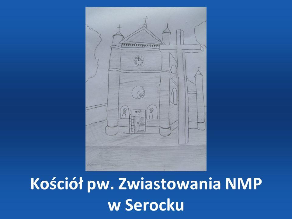Pałac wzniesiono w XVIII w.przez rodzinę Krasińskich.