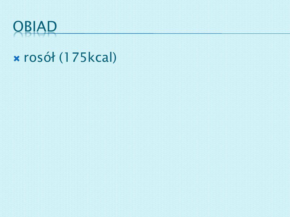 rosół (175kcal)
