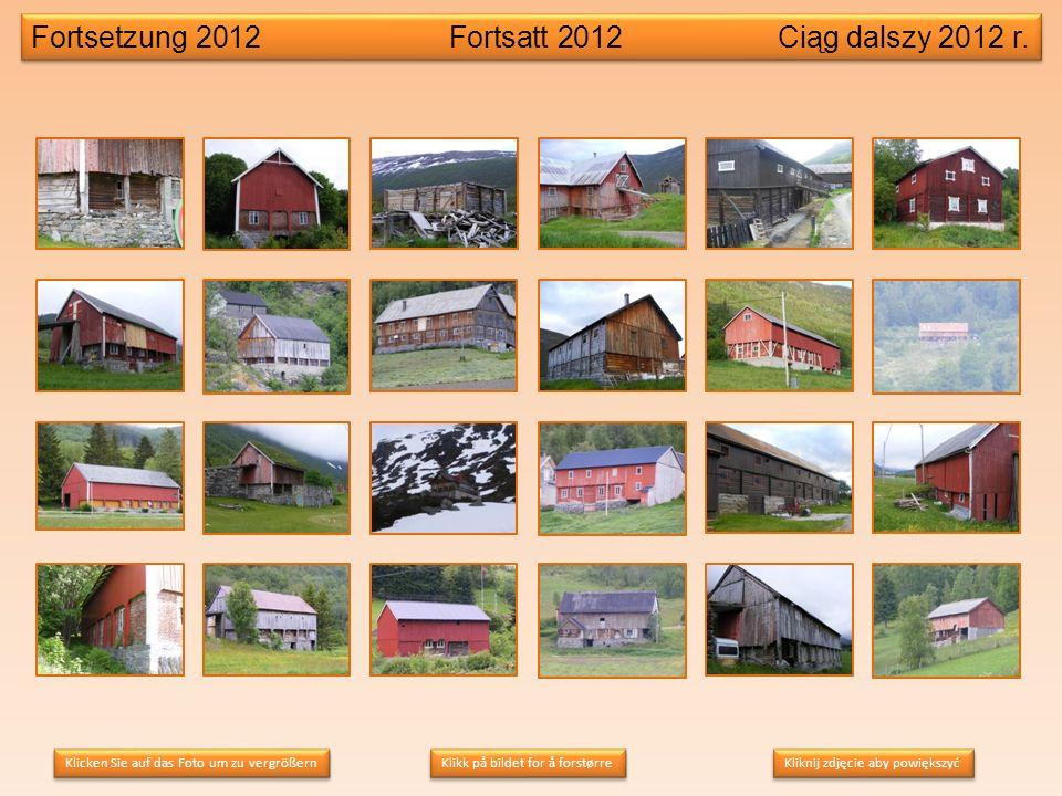Fortsetzung 2012 Fortsatt 2012Ciąg dalszy 2012 r.