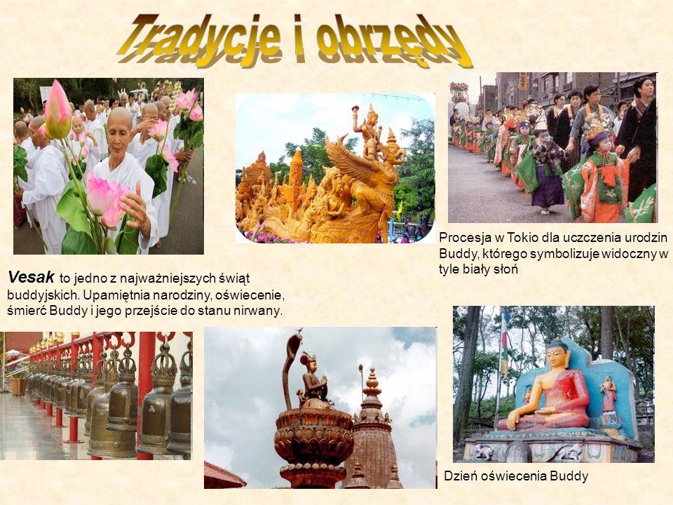 Vesak to jedno z najważniejszych świąt buddyjskich.