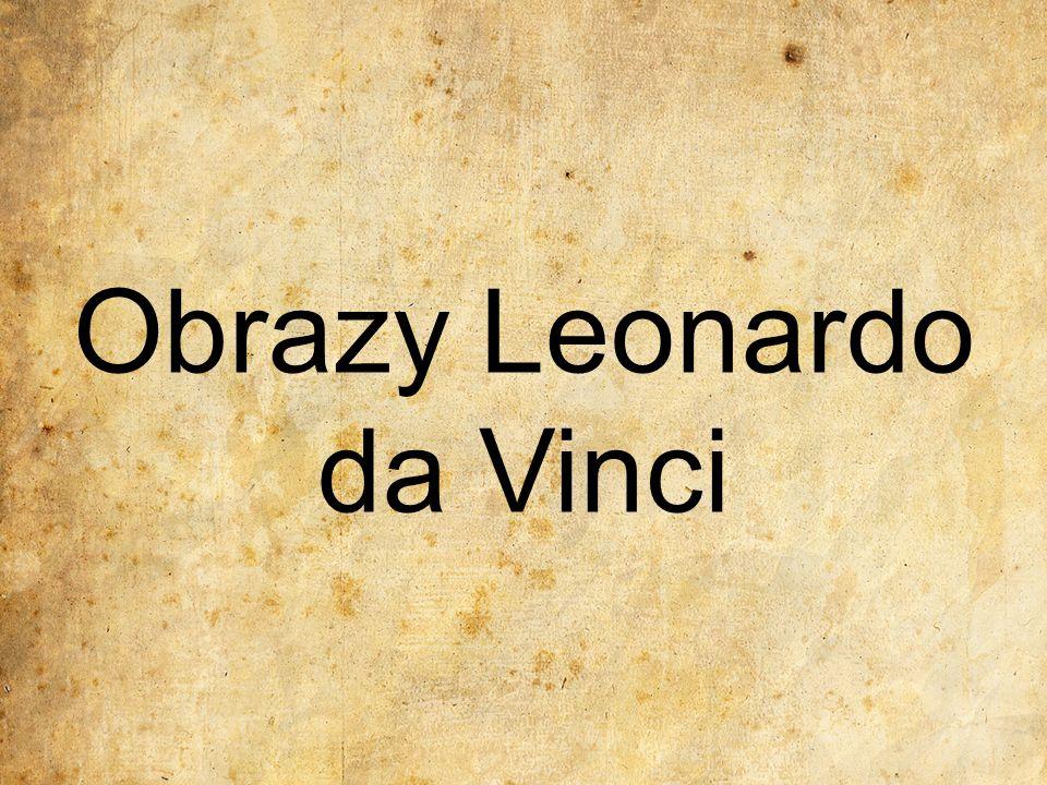 Obrazy Leonardo da Vinci