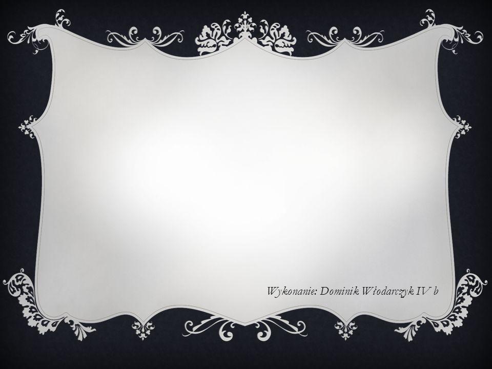 Wykonanie: Dominik Włodarczyk IV b