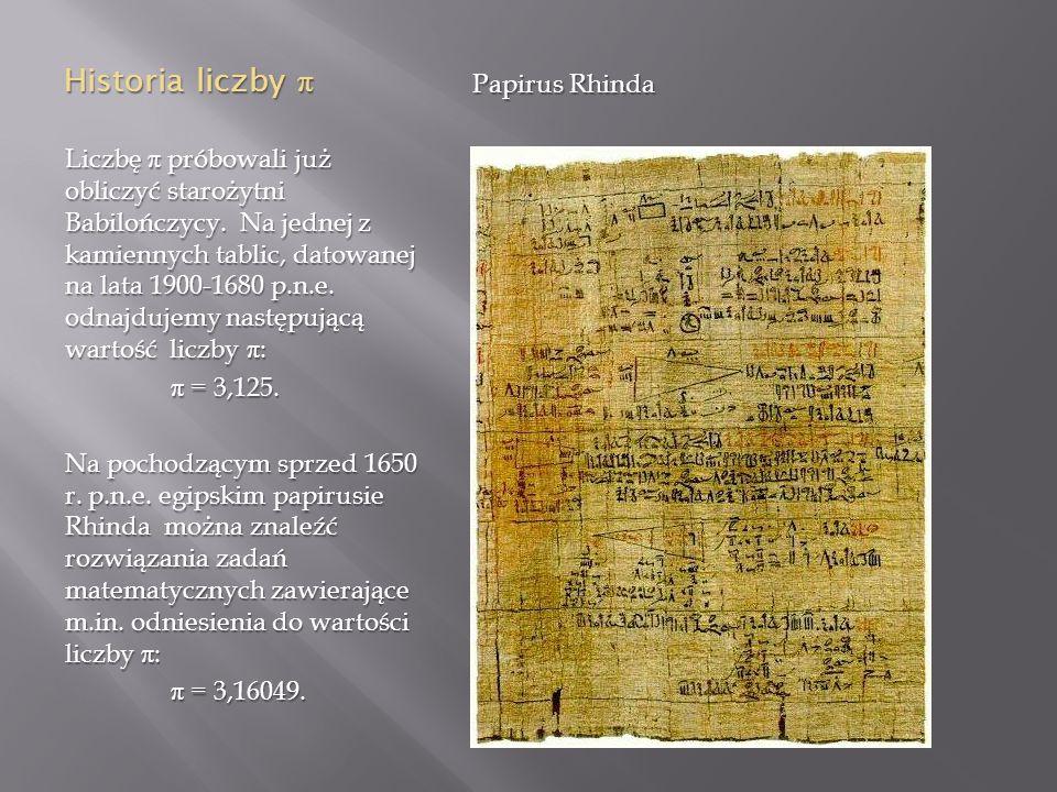 Metoda Archimedesa Archimedes, grecki matematyk i fizyk żyjący w III w.