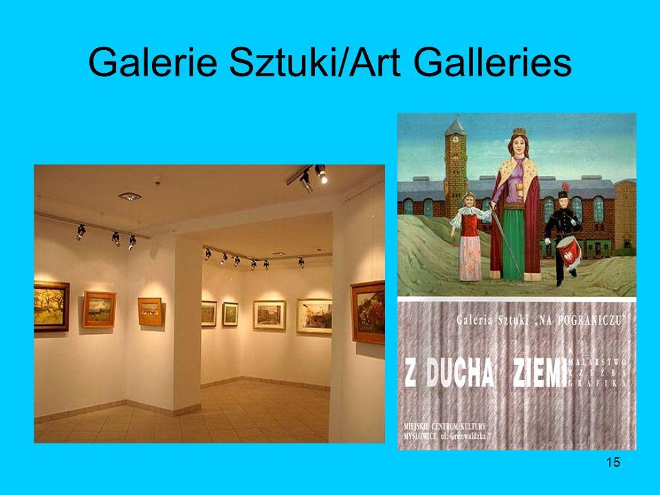 15 Galerie Sztuki/Art Galleries