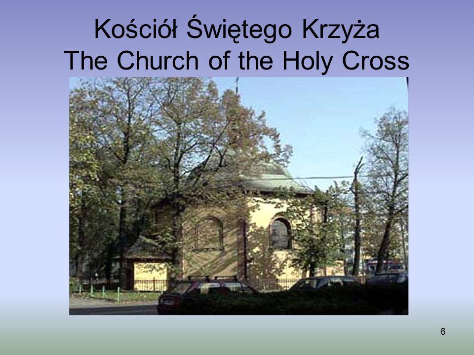 7 Kościół Narodzenia Najświętszej Marii Panny / The Church of the Birth of the Holy Virgin Mary